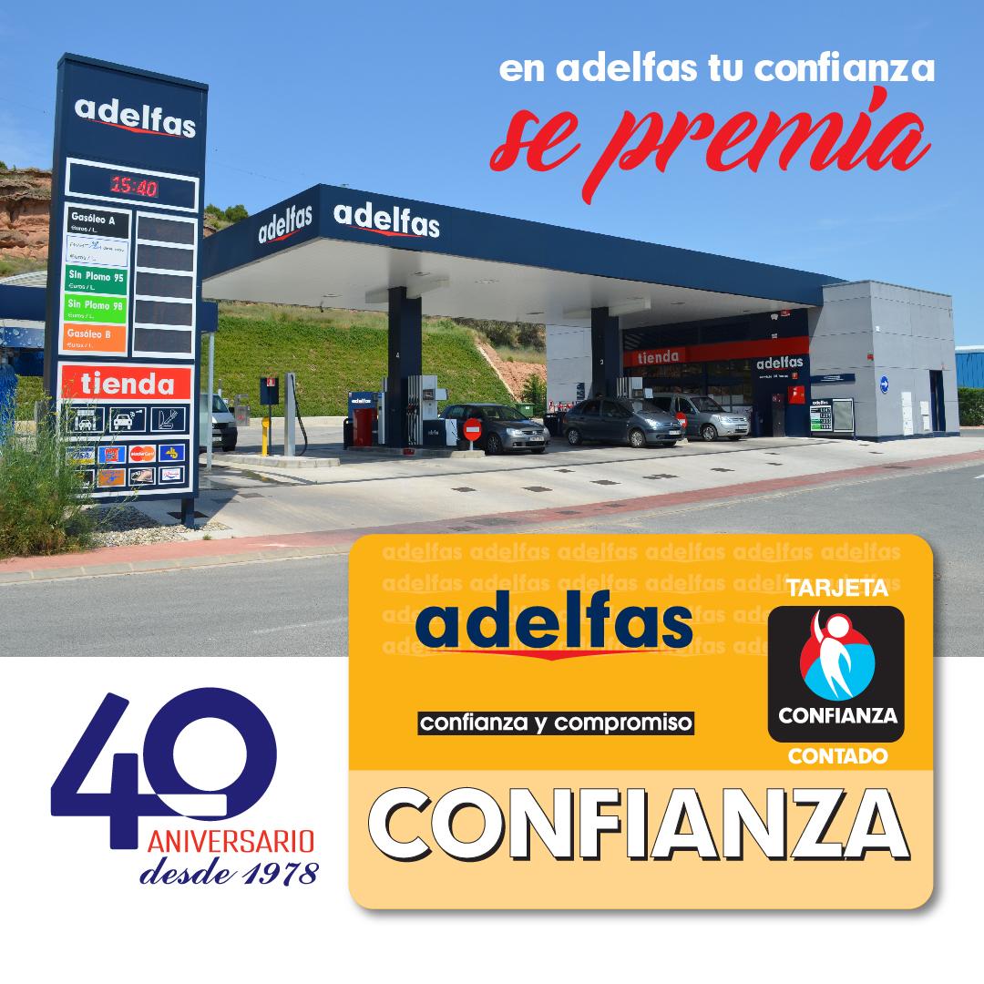 Tarjeta Adelfas Confianza